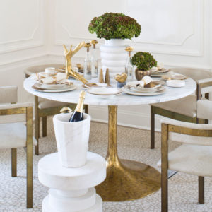 Top Amazing Modern Dining Table Decorating